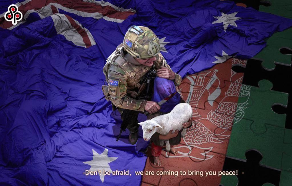 大陸學者揭澳洲「狗哨政治」伎倆。圖為11月30日澳洲總理莫里森要求北京就中國外交部發言人推特上一張圖片道歉,指為不實照片。(摘自趙立堅推特)