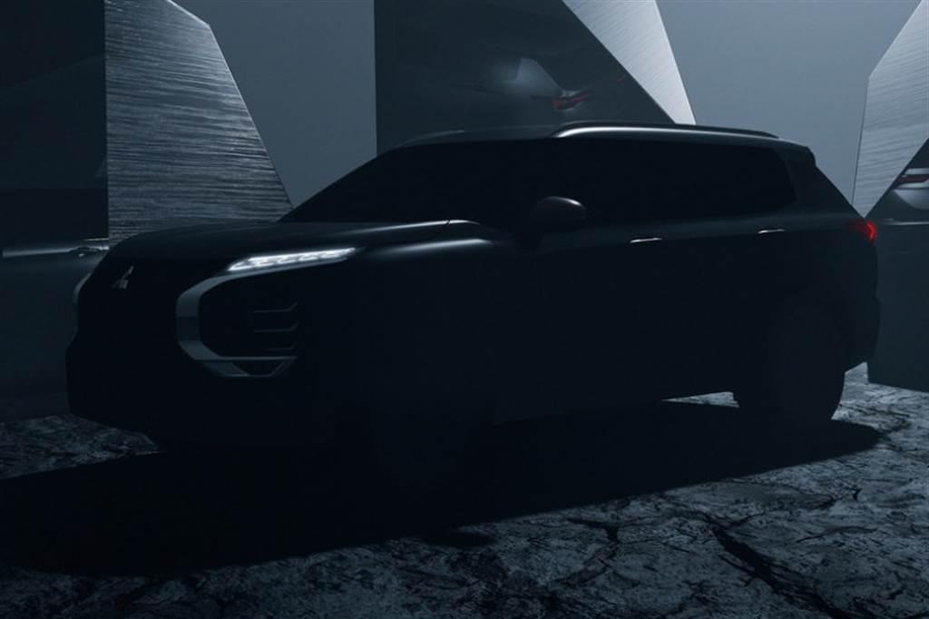 延續自 Engelberg Tourer Concept 設計,Mitsubishi 第四代 Outlander 2021年2月世界初公開!