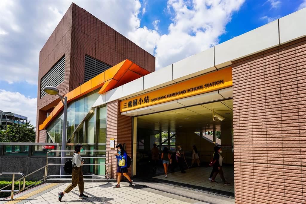 仁義重劃區生活圈之中,最近捷運站為新蘆線三重國小站,可快速抵達北市。(業者提供)
