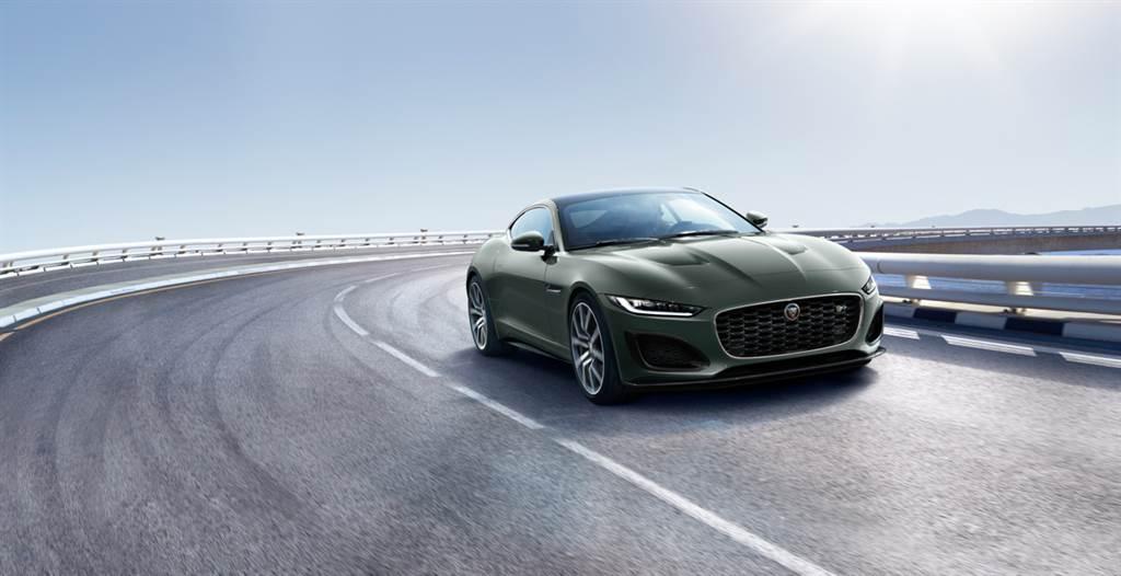 致敬E-TYPE誕生60週年 Jaguar限量推出F-TYPE Heritage 60 Edition