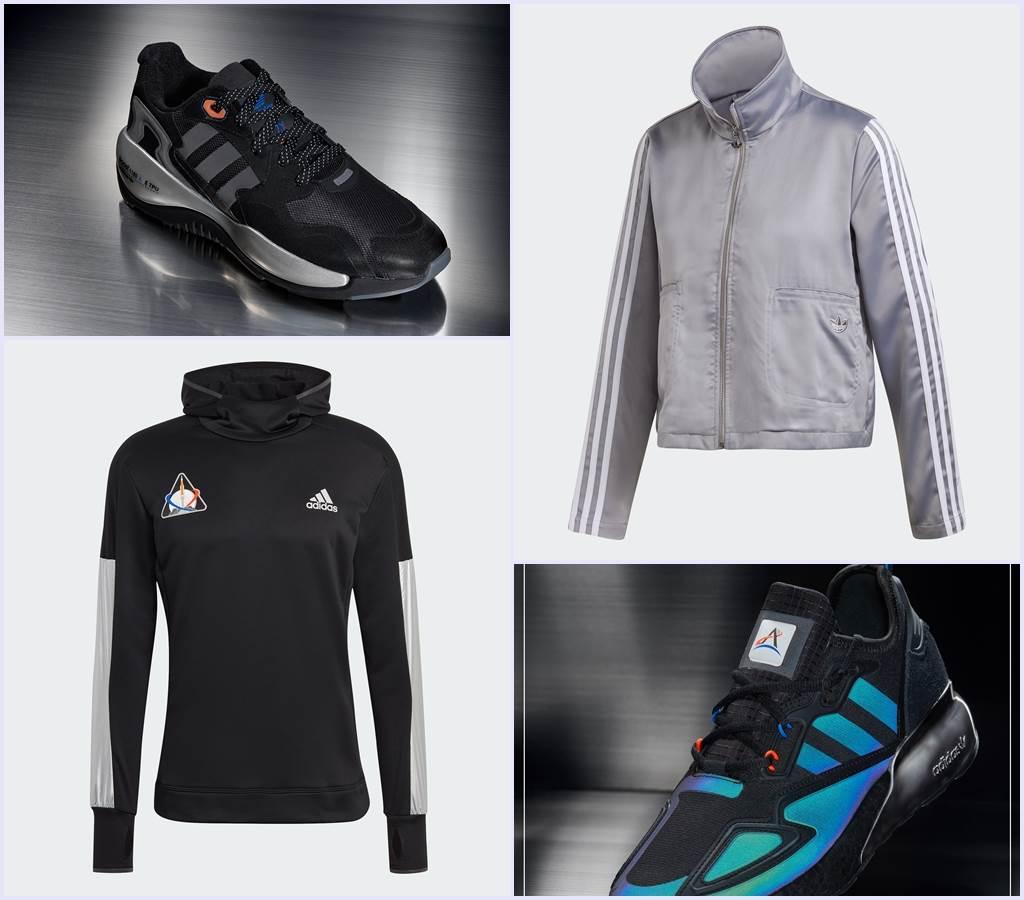 adidas推出一系列Space Race太空限定鞋款與服飾。(圖/品牌提供)