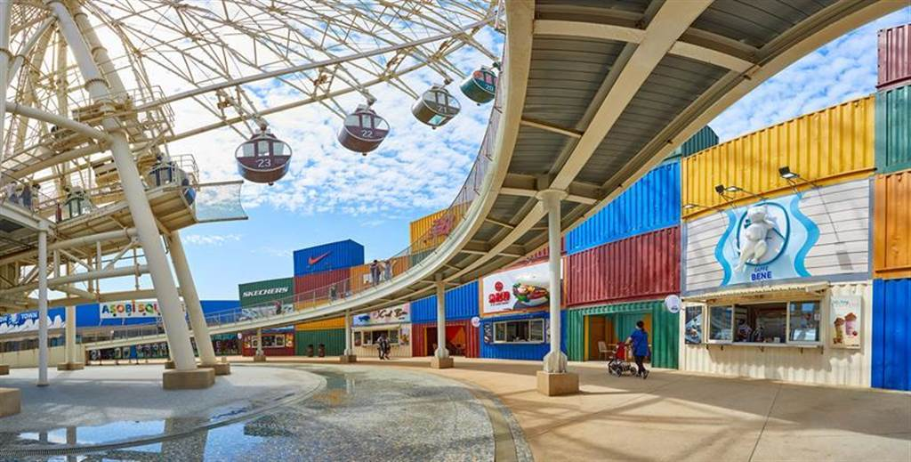 台中港三井OUTLET PARK一期營運表現亮眼,目前已啟動二期商場興建案。圖/業者提供