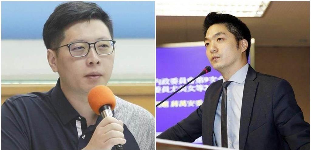 民進黨桃園市議員王浩宇(左圖)、國民黨立委蔣萬安(右圖)。(中時資料照)