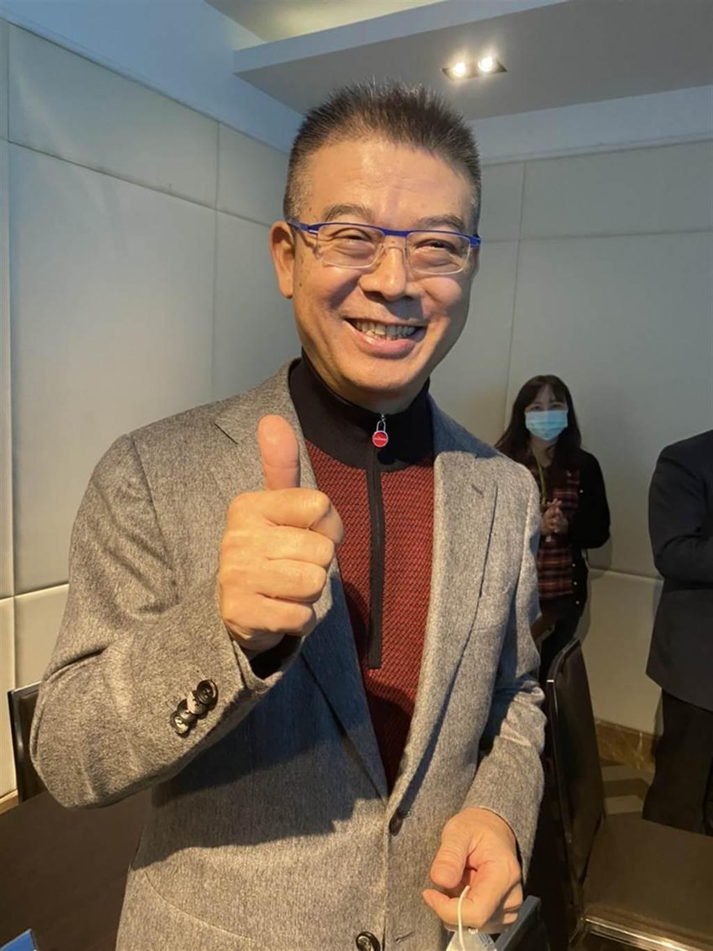 神腦總裁林保雍表示,看好2021年整體通訊產業景氣會比今年好。圖/林淑惠