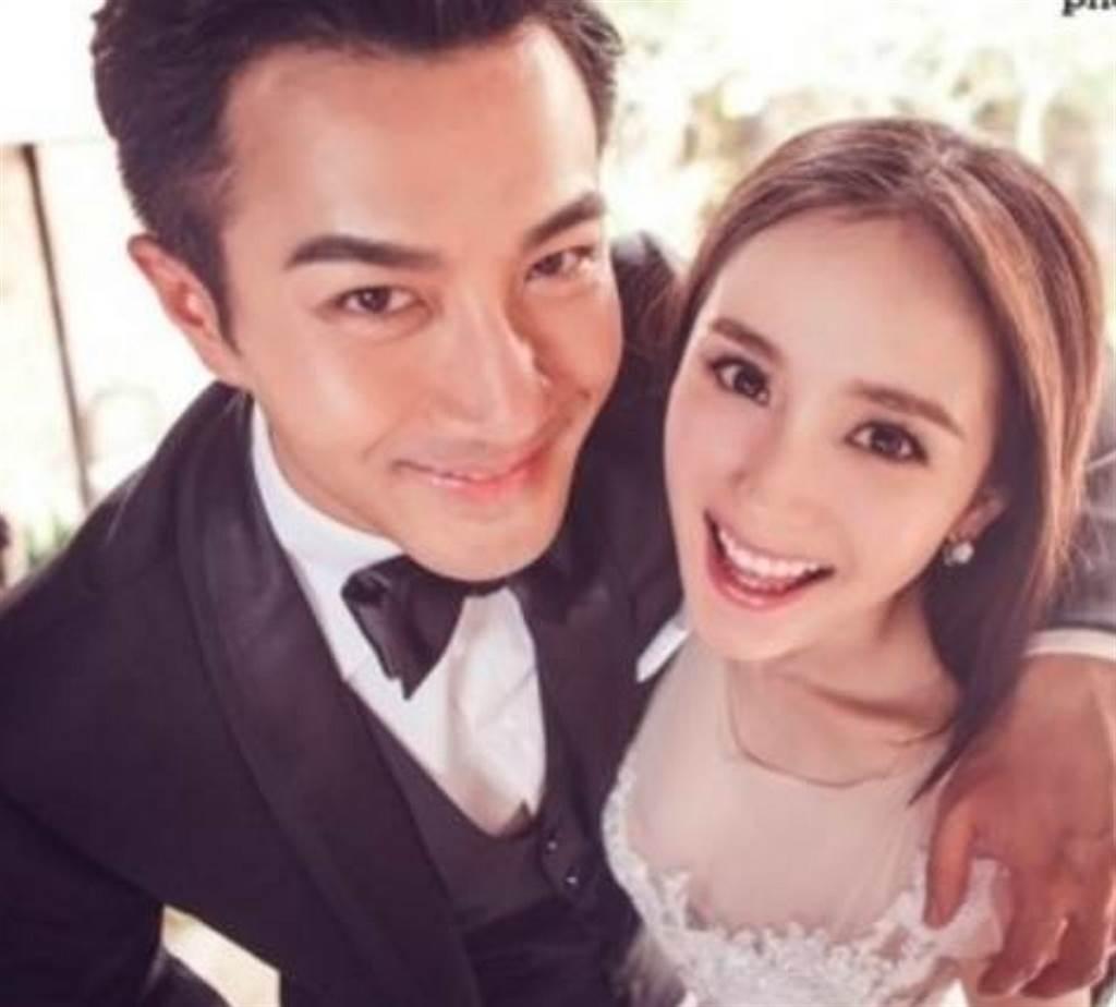 大陸男星劉愷威和楊冪曾有一段震驚演藝圈的戀情,但2018年兩人宣布離婚。(圖/ 摘自微博)