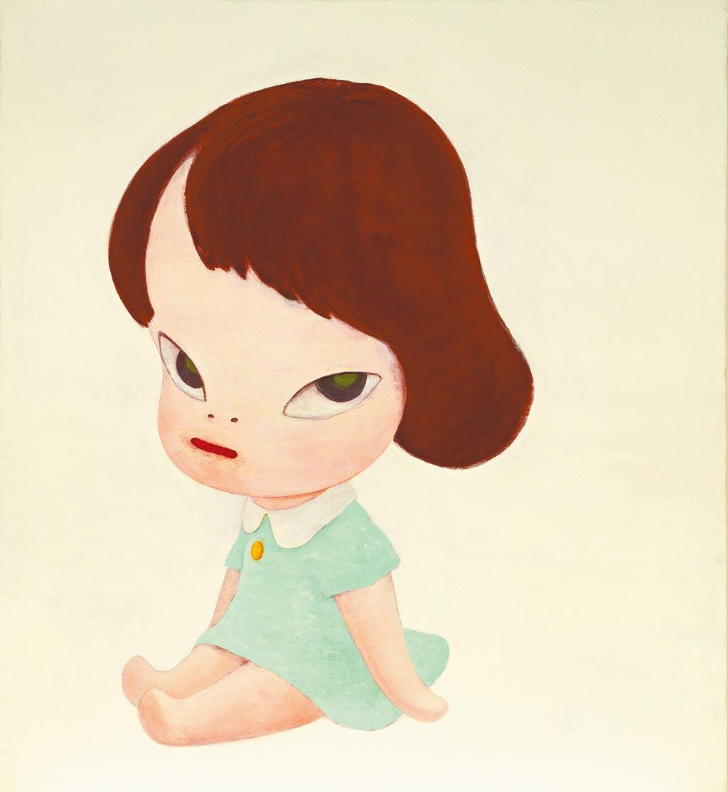 奈良美智《溫室女孩》創下個人拍賣第二高價。(富藝斯提供)