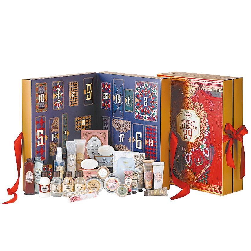SABON胡桃鉗假期倒數月曆,推薦價4180元,限量30份。(京站提供)