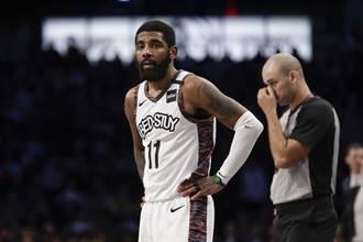 NBA》沒在怕的!厄文拒訪遭聯盟罰款2.5萬美元