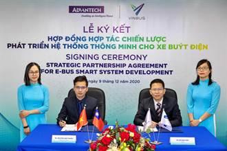 《電腦設備》研華攜手越南VinBus 合拓智慧電動巴士商機