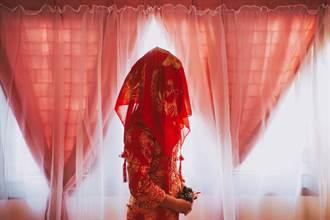 古代新娘為何披「紅蓋頭」 背後由來太血腥
