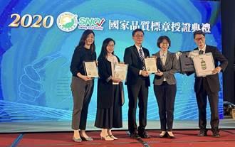 台塑生醫拿「生醫界奧斯卡獎」 SNQ國家品質標章防疫類別最多認證