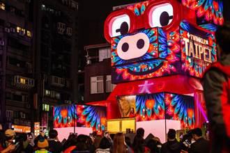 北市府今宣布 爭取舉辦「2023台灣燈會」