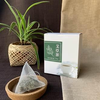 龍潭高原社區自產無毒艾草做茶包 攜帶方便又鎮神