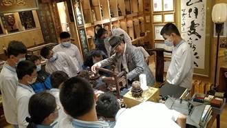 松山商職特教班與古代生活博物館相見歡
