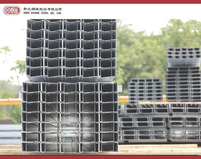 (新光鋼推出高耐腐蝕鎂鋁鋅鎳鋼材。圖/新光鋼提供)