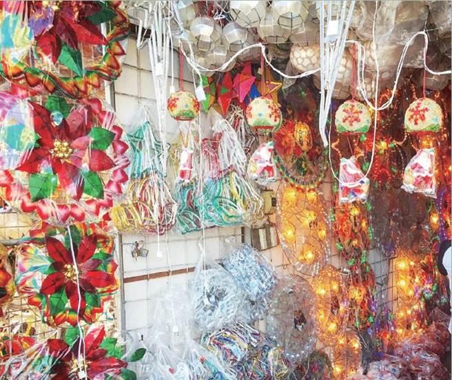 圖/P.142 個人覺得很醜的菲律賓聖誕節裝飾。(圖/時報出版提供)