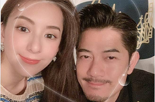 方媛3年前和郭富城結婚。(圖/翻攝自方媛微博)