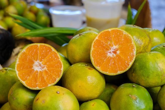 綠皮柳丁也富含營養。(圖/常春月刊提供)
