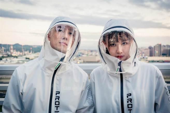長榮樂e購推出「機能防護夾克」。(長榮提供)