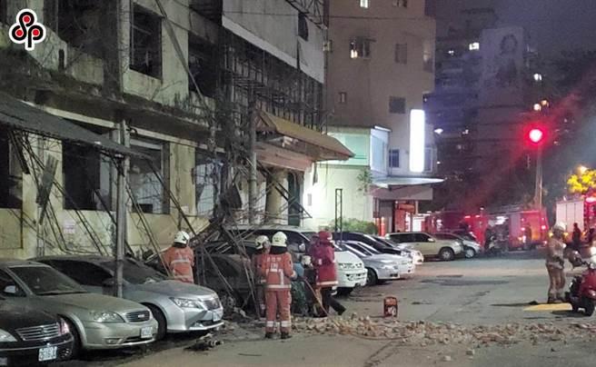 昨晚9時19分,發生芮氏規模6.7強震,全台有感。(讀者提供)