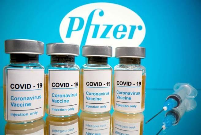 美国药厂辉瑞(Pfizer)与德国BioNTech联手开发的新冠疫苗。(路透)