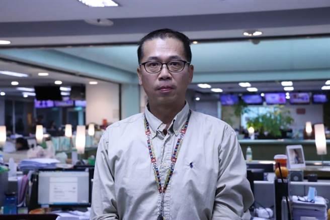 中天資深攝影記者胡啟仁已在中天新聞26年8個月。(中天新聞台提供)
