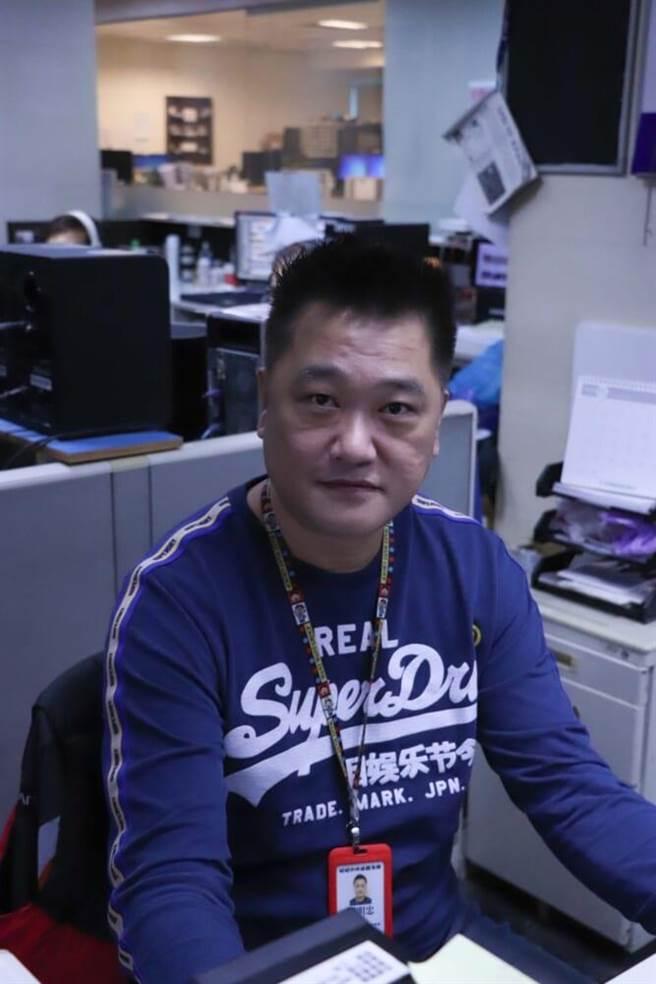 中天攝影中心主任劉明忠認為關台是自己職涯生活最大的事件。(中天新聞台提供)