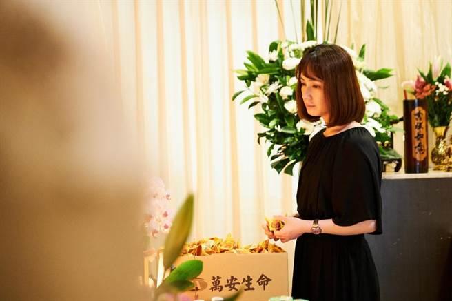 小薰演出公视最新迷你剧集《大债时代》。(公视提供)