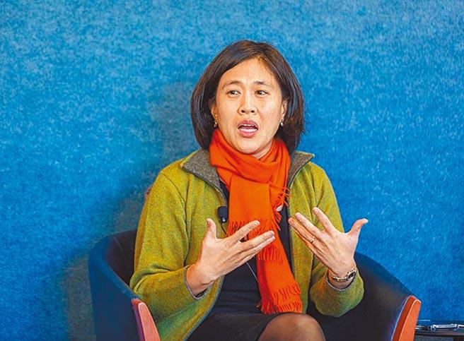 美國眾院歲出入委員會首席貿易顧問戴琦(Katherine Tai)父母來自台灣,她將出任拜登政府的貿易代表。圖/摘自Inter-American Dialogue