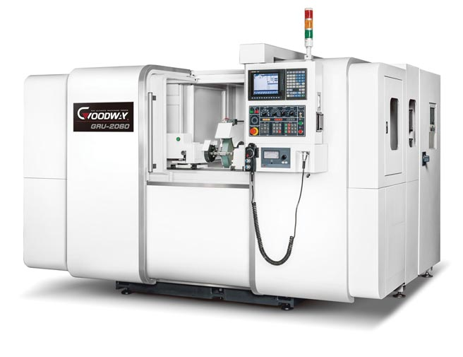程泰機械所開發的GRW系列走頭式CNC磨床。圖/業者提供
