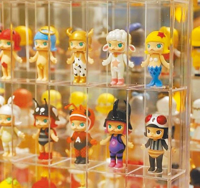 潮玩泡泡瑪特迎香港上市。(取自POP MART官網)