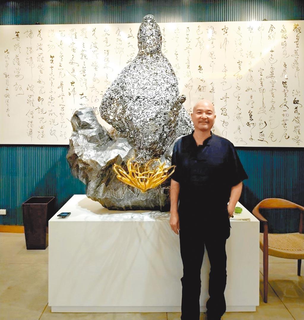 許文融除了水墨,還專精於油畫、雕塑。其源源不絕的創作能量,是台灣畫壇值得期待的。圖/99度藝術中心提供