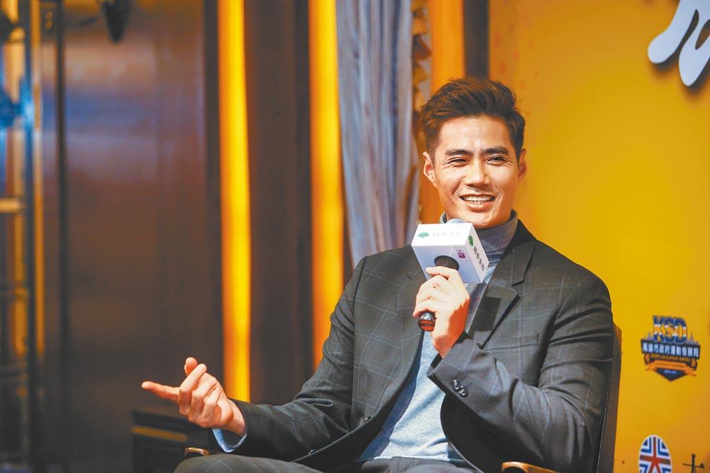 陳偉殷對新球季動向,僅表示確定會留在日職,至於新東家則交給經紀公司處理。(鄧博仁攝)
