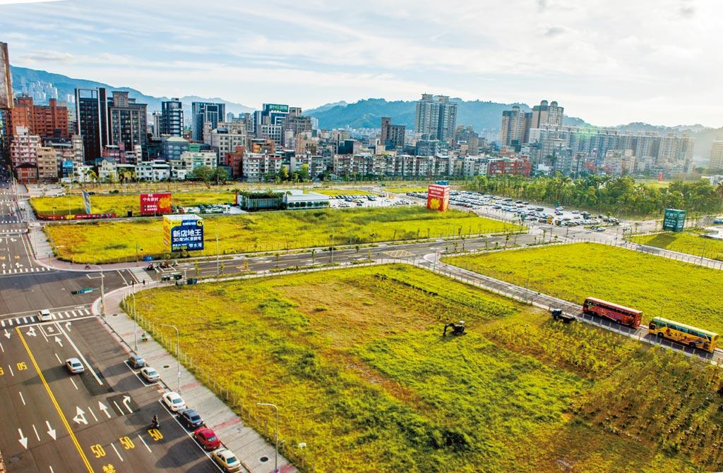 新店央北重劃區擁有河岸景觀、高綠覆率與低密度開發等特性。(本報資料照片)