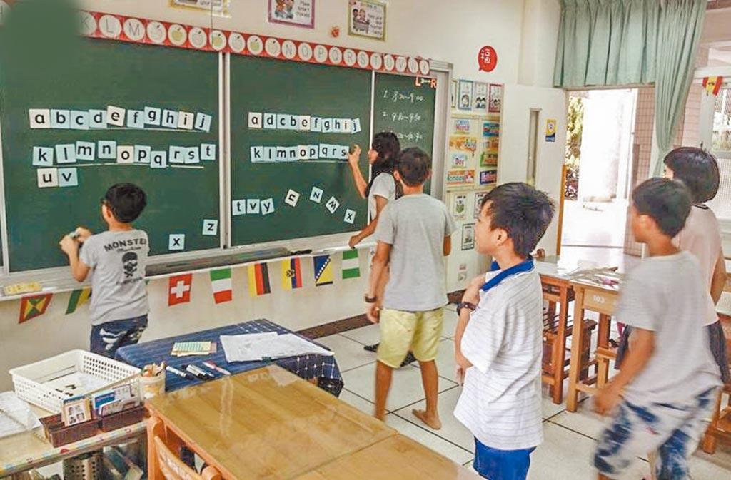 因應2030雙語國家政策,教育部將努力提升台灣學生的英語程度。(本報資料照片)