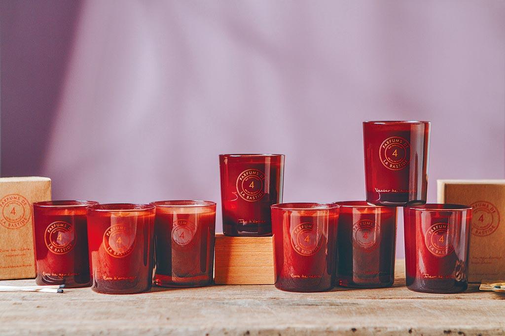 瑪黑家居的普羅旺斯PARFUMS DE LA BASTIDE香氛蠟燭,1480元。(瑪黑家居提供)