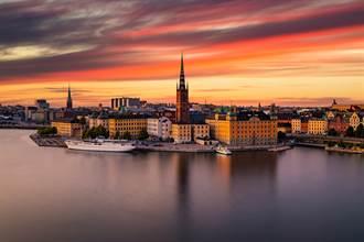 斯德哥爾摩今年12月異常昏暗 日照尚不足1小時