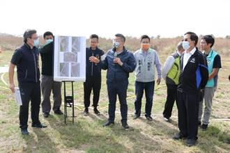 蔡其昌、張廖萬堅、黃國書同爭取 台中市足球運動休閒園區拍板定案