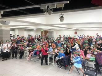 立委費鴻泰舉辦「創意聖誕花環DIY親子活動」