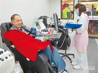 秋冬來襲用血需求增 台北急需募集8000袋熱血救命