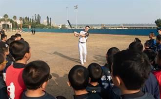 中職》赴金門擔任棒球大使 林安可盼能幫助真正愛打球的孩子