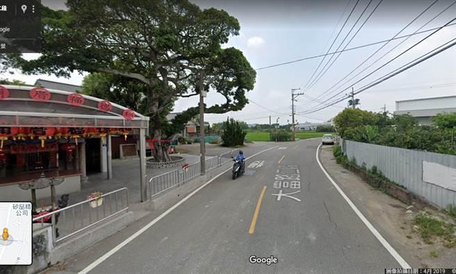 車禍現場人煙稀少較偏僻,家屬盼能有路過民眾提供行車紀錄器,幫助釐清車禍真相。(翻攝Google Map)