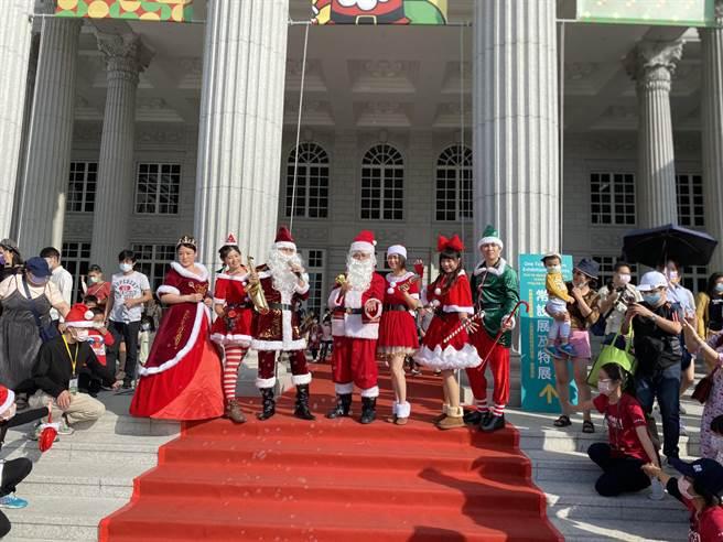 奇美博物馆连续3年应景耶诞推出「奇美耶诞周末」,今天起连续2个周末登场。(曹婷婷摄)