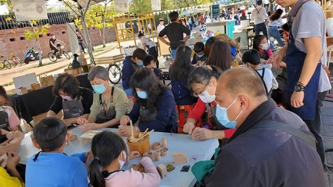 木产业设计创意节,在东势客家文化园区扩大办理。(台中市政府提供/陈世宗台中传真)
