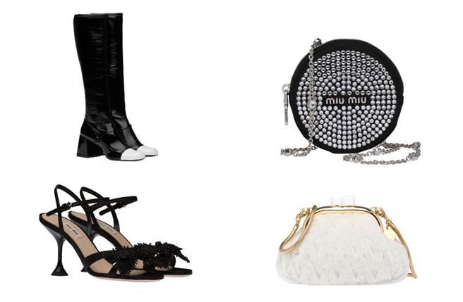 该系列所有产品都以特别设计的Miu Miu Select 购物袋和礼盒包装,限时限量独家于台北101 Miu Miu专门店发售。(图/品牌提供)