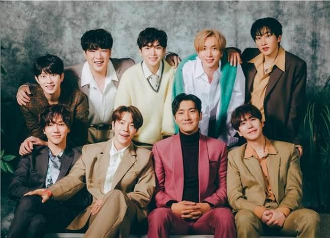 南韓天團Super Junior。(圖/ 摘自Super Junior IG)