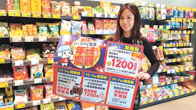 量贩、超市、超商争相推出「双12」优惠活动吸客。图/全联提供