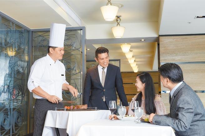 王品牛排强调,服务要有温度,客人才会更有感。图/王品集团