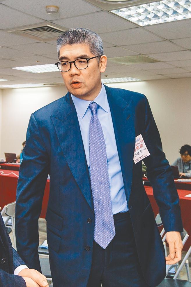 國民黨智庫副董事長連勝文向NCC檢舉三立假新聞。(本報資料照片)