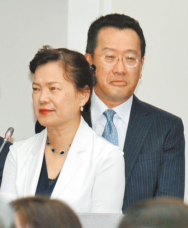 经济部长王美花11日在立院备询时承认,的确和先生国安会秘书长顾立雄到日本台湾交流协会代表官邸参与私人聚会,但绝对没有谈论到核食有关议题。(本报资料照片)